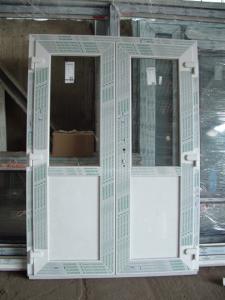 Használt műanyag bejárati ajtó